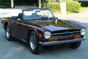 1971 Triumph TR-6 ROADSTER - REFRESHED - 66K MI Photo