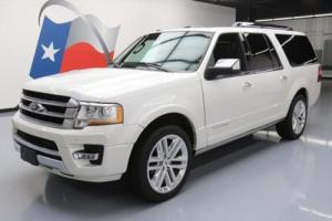 2016 Ford Expedition EL PLATINUM ECOBOOST NAV DVD 22'S