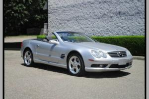 2004 Mercedes-Benz SL-Class Convertible