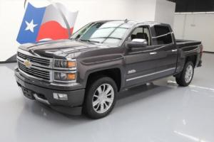 2014 Chevrolet Silverado 1500 SILVERADO 4X4 HIGH COUNTRY CREW NAV 20'S