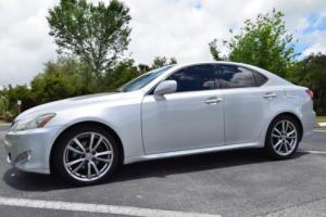 2008 Lexus IS LEATHER SUNROOF PADDLE SHIFT Photo