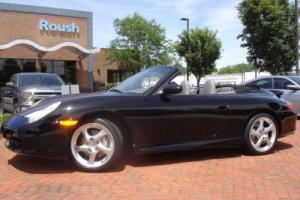 2003 Porsche 911 2dr Carrera 4 Cabriolet 6-Speed Manual