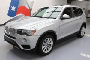 2017 BMW X3 SDRIVE28I TURBOCHARGED PANO ROOF NAV