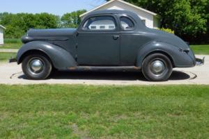 1937 Plymouth Coupe basic