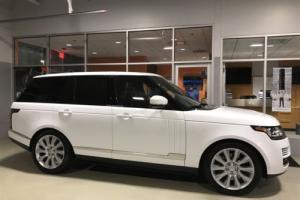 2015 Land Rover Range Rover V8 Supercharged 4x4 Navigation