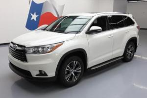 2016 Toyota Highlander XLE SUNROOF NAV LEATHER 8PASS
