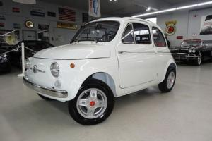 1964 Fiat 500D Fully Restored Like New Drives Great Photo