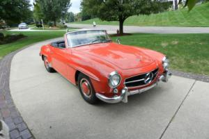 1961 Mercedes-Benz SL-Class COUPE/ROADSTER