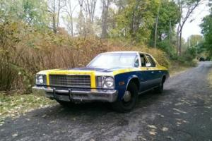 1977 Plymouth Fury Factory Police
