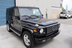 2002 Mercedes-Benz G-Class G500 5.0L V8 4WD SUV Photo