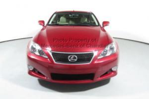 2010 Lexus IS 2dr Convertible Automatic Photo