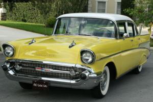 1957 Chevrolet Bel Air/150/210 FRAME OFF RESTORED - 88K MI