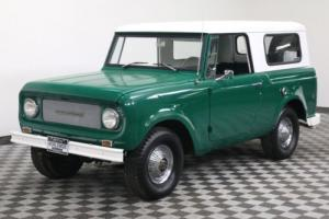 1966 International Harvester Scout 800 4X4 CONVERTIBLE TOP 4-SPEED MUST SEE