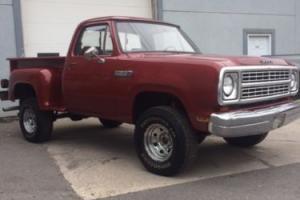 1979 Dodge Power Wagon W150