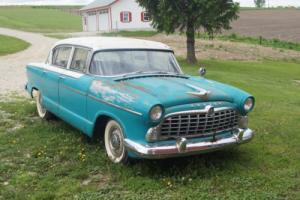 1955 Hudson 4 door