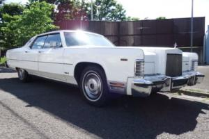 1974 Lincoln Continental Photo