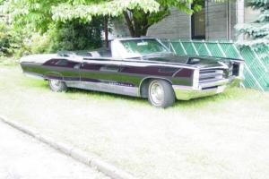 1966 Pontiac Bonneville convertable Photo