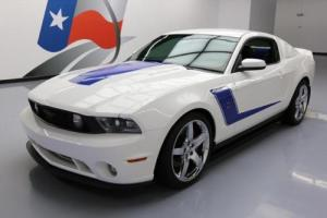 2010 Ford Mustang GT ROUSCH 427R 435HP S/C 5-SPEED 20'S