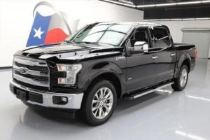 2017 Ford F-150 LARIAT CREW ECOBOOST PANO SUNROOF NAV