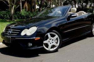 2006 Mercedes-Benz CLK-Class CLK 500 2dr Convertible Convertible 2-Door V8 5.0L