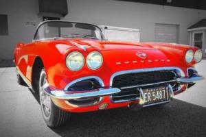 1962 Chevrolet Corvette Power Windows Photo