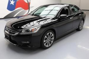 2014 Honda Accord SPORT SEDAN CVT REAR CAM ALLOYS