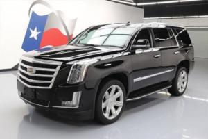 2016 Cadillac Escalade LUX 4X4 SUNROOF NAV HUD 22'S