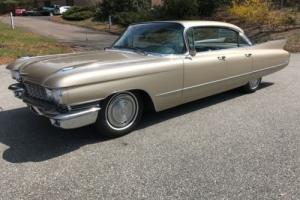 1960 Cadillac DeVille Sedan Deville