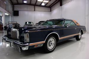 1978 LINCOLN MARK V, CHAMOIS LUXURY GROUP LEATHER, NLY 22,816 ORIGINAL MILES!
