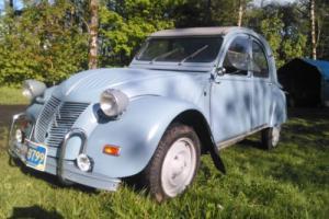1960 Citroën 2cv Photo