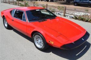 1974 De Tomaso Pantera Cleveland 351 V-8's