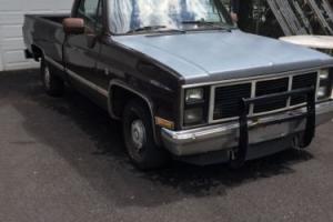 1987 GMC Sierra 1500 Photo