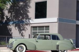 1941 Lincoln Continental 1941 Lincoln Continental V12 Coupe Photo