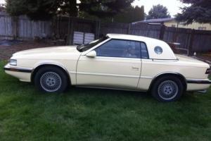 1989 Chrysler hard top/convertible