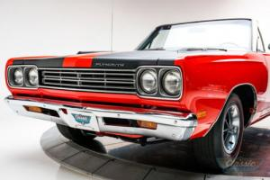 1969 Plymouth Road Runner Convertible Numbers Matching Rotisserie Restored Photo