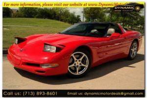2001 Chevrolet Corvette TARGA TOP