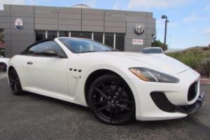 2013 Maserati Gran Turismo MC