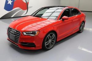 2015 Audi S3 2.0T QUATTRO PREM PLUS AWD SUNROOF NAV