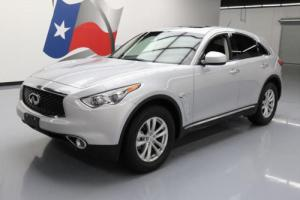 2017 Infiniti QX70 HTD LEATHER SUNROOF REAR CAM