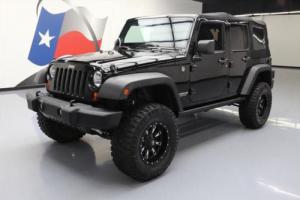 2013 Jeep Wrangler UNLTD RUBICON 4X4 6-SPEED LIFTED