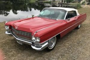 1964 Cadillac DeVille Convertible Photo