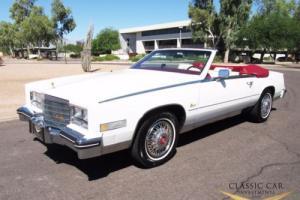 1985 Cadillac Eldorado Biarittz Convertible