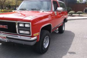 1989 Chevrolet Blazer JIMMY GMC Photo