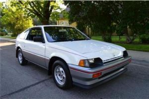 1984 Honda Civic CRX Sport Photo