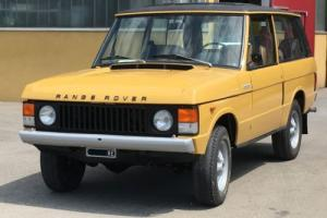 1973 Land Rover Range Rover Photo