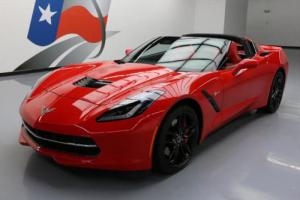 2015 Chevrolet Corvette STINGRAY Z51 1LT RED LEATHER
