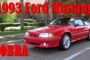 1993 Ford Mustang FOX BODY
