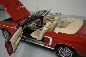 1968 Ford Mustang LUXURY Convertible with GT options and more