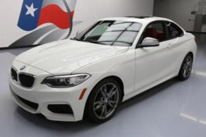 2015 BMW 2-Series M235I PREMIUM TECH PKG RED HTD LEATHER NAV
