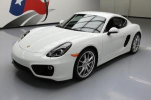 2015 Porsche Cayman PDK HTD LEATHER NAV 20'S